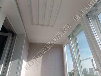 osteklenie lodzhii PVH s kryshej i vnutrennej otdelkoj 11 387x291 - Фото остекления балкона № 51