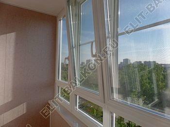osteklenie lodzhii PVH s kryshej i vnutrennej otdelkoj 12 387x291 - Фото остекления балкона № 51