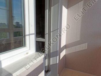 osteklenie lodzhii PVH s kryshej i vnutrennej otdelkoj 13 387x291 - Фото остекления балкона № 51