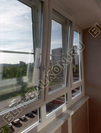 osteklenie lodzhii PVH s kryshej i vnutrennej otdelkoj 15 387x291 - Фото остекления балкона № 51
