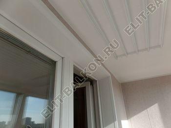 osteklenie lodzhii PVH s kryshej i vnutrennej otdelkoj 16 387x291 - Фото остекления балкона № 51