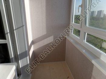 osteklenie lodzhii PVH s kryshej i vnutrennej otdelkoj 8 387x291 - Фото остекления балкона № 51