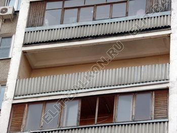 teploe osteklenie lodzhii PVH s usileniem parapeta 1 387x291 - Фото остекления балкона № 49