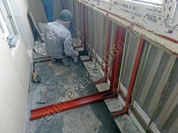 teploe osteklenie lodzhii PVH s usileniem parapeta 17 387x291 - Фото остекления балкона № 49