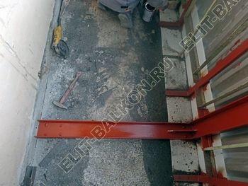 teploe osteklenie lodzhii PVH s usileniem parapeta 18 387x291 - Фото остекления балкона № 49