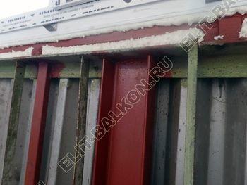 teploe osteklenie lodzhii PVH s usileniem parapeta 19 387x291 - Фото остекления балкона № 49