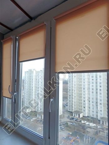 Фото остекления балкона № 56