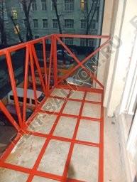 Ustanovka novogo parapeta  - Ремонт балконов и лоджий под ключ