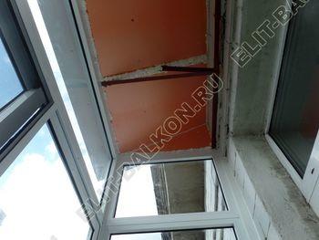 osteklenie balkona legkoj aljuminievoj konstruktsiej montazh kryshi 10 387x291 - Фото остекления балкона № 58