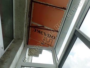 osteklenie balkona legkoj aljuminievoj konstruktsiej montazh kryshi 16 387x291 - Фото остекления балкона № 58