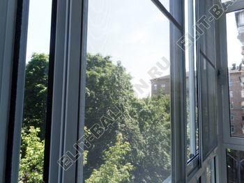 osteklenie balkona s rigeljami aljuminiem 11 387x291 - Фото остекления балкона № 57