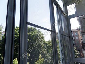 osteklenie balkona s rigeljami aljuminiem 12 387x291 - Фото остекления балкона № 57