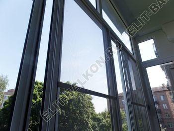 osteklenie balkona s rigeljami aljuminiem 13 387x291 - Фото остекления балкона № 57