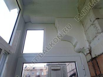osteklenie balkona s rigeljami aljuminiem 16 387x291 - Фото остекления балкона № 57