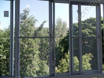 osteklenie balkona s rigeljami aljuminiem 17 387x291 - Фото остекления балкона № 57