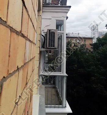 osteklenie balkona s rigeljami aljuminiem 19 387x291 - Фото остекления балкона № 57