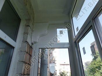 osteklenie balkona s rigeljami aljuminiem 3 387x291 - Фото остекления балкона № 57
