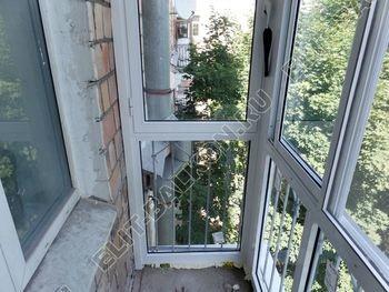 osteklenie balkona s rigeljami aljuminiem 7 387x291 - Фото остекления балкона № 57