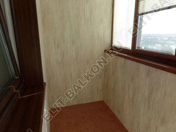 otdelka teplogo balkona osteklenie PVH s laminatsiej 10 387x291 - Фото остекления балкона № 60