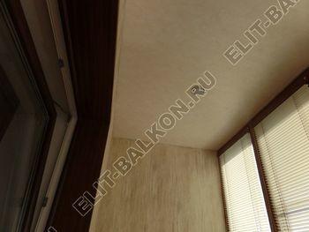 otdelka teplogo balkona osteklenie PVH s laminatsiej 12 387x291 - Фото остекления балкона № 60