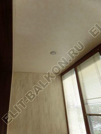otdelka teplogo balkona osteklenie PVH s laminatsiej 14 387x291 - Фото остекления балкона № 60