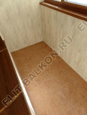 otdelka teplogo balkona osteklenie PVH s laminatsiej 16 387x291 - Фото остекления балкона № 60