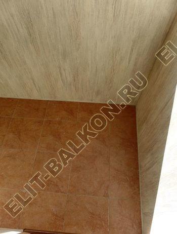 otdelka teplogo balkona osteklenie PVH s laminatsiej 18 387x291 - Фото остекления балкона № 60