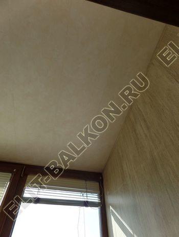 otdelka teplogo balkona osteklenie PVH s laminatsiej 20 387x291 - Фото остекления балкона № 60