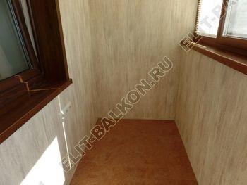 otdelka teplogo balkona osteklenie PVH s laminatsiej 22 387x291 - Фото остекления балкона № 60