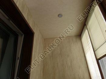 otdelka teplogo balkona osteklenie PVH s laminatsiej 24 387x291 - Фото остекления балкона № 60