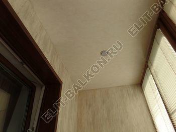 otdelka teplogo balkona osteklenie PVH s laminatsiej 25 387x291 - Фото остекления балкона № 60