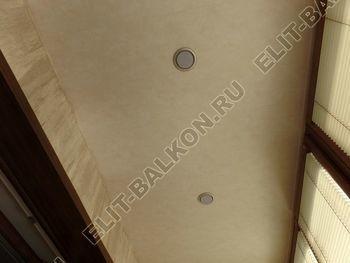 otdelka teplogo balkona osteklenie PVH s laminatsiej 26 387x291 - Фото остекления балкона № 60