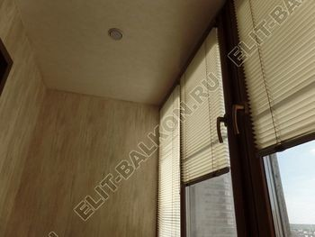 otdelka teplogo balkona osteklenie PVH s laminatsiej 30 387x291 - Фото остекления балкона № 60