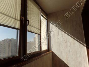 otdelka teplogo balkona osteklenie PVH s laminatsiej 36 387x291 - Фото остекления балкона № 60
