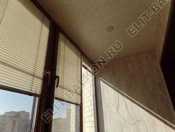 otdelka teplogo balkona osteklenie PVH s laminatsiej 37 387x291 - Фото остекления балкона № 60
