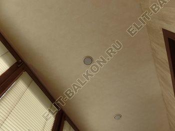 otdelka teplogo balkona osteklenie PVH s laminatsiej 39 387x291 - Фото остекления балкона № 60
