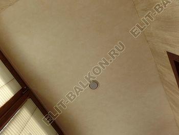 otdelka teplogo balkona osteklenie PVH s laminatsiej 40 387x291 - Фото остекления балкона № 60