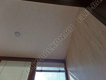 otdelka teplogo balkona osteklenie PVH s laminatsiej 6 387x291 - Фото остекления балкона № 60
