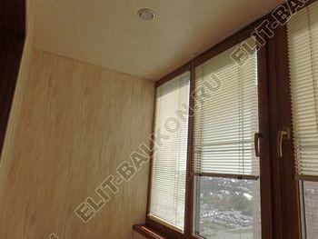 otdelka teplogo balkona osteklenie PVH s laminatsiej 7 387x291 - Фото остекления балкона № 60