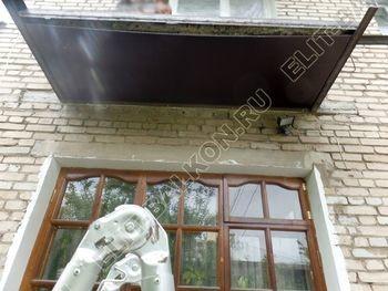 ukreplenie balkona vneshnjaja otdelka montazh novoj kryshi 10 387x291 - Фото остекления балкона № 59