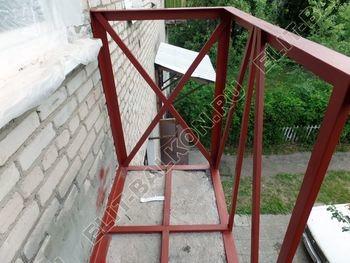 ukreplenie balkona vneshnjaja otdelka montazh novoj kryshi 19 387x291 - Фото остекления балкона № 59