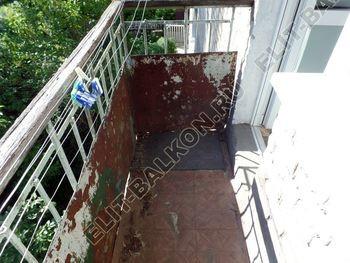 ukreplenie balkona vneshnjaja otdelka montazh novoj kryshi 3 387x291 - Фото остекления балкона № 59