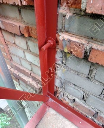 ukreplenie balkonnoj plity montazh novogo parapeta s vynosom 6 387x291 - Укрепление балконной плиты и парапета. Фото одного балкона. Каширское шоссе, дом 50