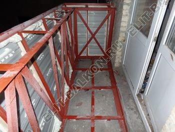 osteklenie balkona PVH s vynosom ukreplenie parapeta 11 387x291 - Фото остекления балкона № 72
