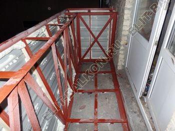 osteklenie balkona PVH s vynosom ukreplenie parapeta 13 387x291 - Фото остекления балкона № 72