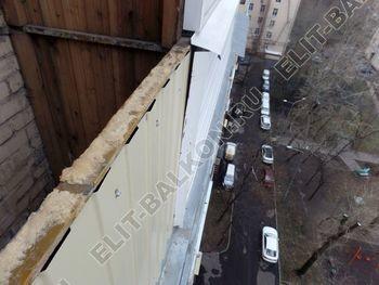 osteklenie balkona PVH s vynosom ukreplenie parapeta 2 387x291 - Фото остекления балкона № 72