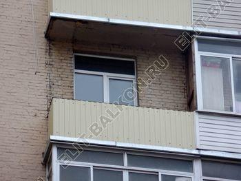 osteklenie balkona PVH s vynosom ukreplenie parapeta 3 387x291 - Фото остекления балкона № 72