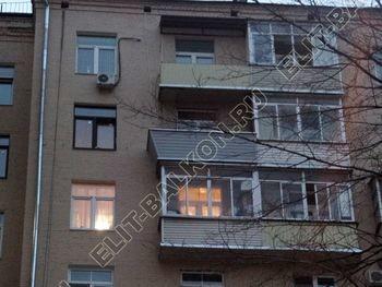 osteklenie balkona PVH s vynosom ukreplenie parapeta 4 387x291 - Фото остекления балкона № 72