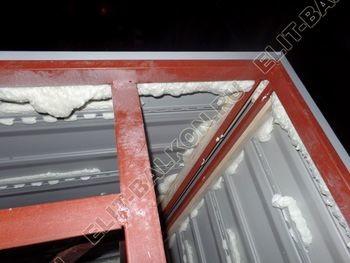 osteklenie balkona PVH s vynosom ukreplenie parapeta 6 387x291 - Фото остекления балкона № 72