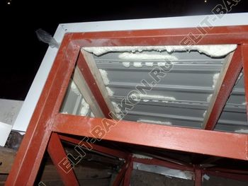 osteklenie balkona PVH s vynosom ukreplenie parapeta 7 387x291 - Фото остекления балкона № 72